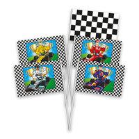 Handvlaggen Formule 1, 8st.
