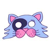 SES Stoffen Masker - Kat