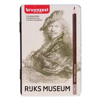 Bruynzeel Rijksmuseum Grafietpotloden, 12st.