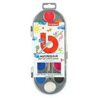 Bruynzeel Kids Waterverf, 12 kleuren