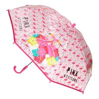 Flamingo Transparante Paraplu, Ø 80 cm