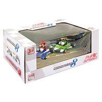 Super Mario Pull Back Raceauto Set, 2dlg.