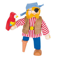 Poppenhuispop Piraat