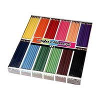Driehoekige Kleurpotloden - Basiskleuren, 288st.