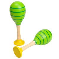 Houten Sambaballen - Groen
