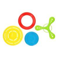 Frisbee-set, 4dlg.