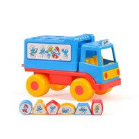 Polesie Smurfen Speel en Leer Vrachtwagen