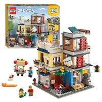 LEGO Creator 31097 Woonhuis, Dierenwinkel & Café