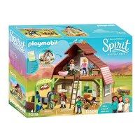 Playmobil Spirit 70118 Schuur met Lucky, Pru en Abigail