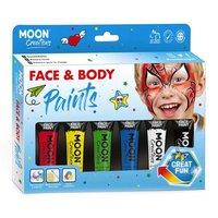 Face & Body Paint Schminkset - Primaire Kleuren