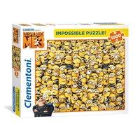Clementoni Impossible Puzzel Minions, 1000st.