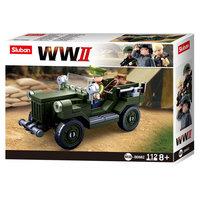Sluban WWII - GAZ-67 Geallieerde Jeep