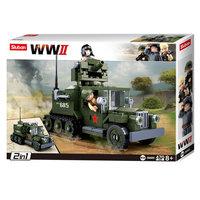 Sluban WWII - GAZ Geallieerde Half-Track 2in1