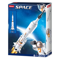 Sluban Space - Stuwraket voor Ruimteveer 2in1