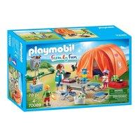 Playmobil 70089 Kampeerders met Tent