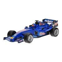 F1 Raceauto met Licht en Geluid - Blauw