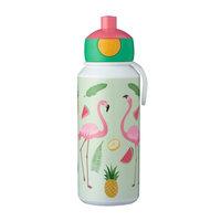 Mepal Campus Drinkfles Pop-up - Tropical Flamingo