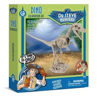Geoworld Dino Uitgraaf Kit - Velociraptor Skelet