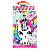 Crayola Kleur- en Stickerboek Eenhoorn Fantasie