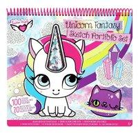 Crayola Super Kleur- en Stickerboek Eenhoorn Fantasie