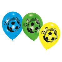 Voetbal Ballonnen, 6st.