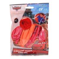 Punchballonnen Cars, 6st
