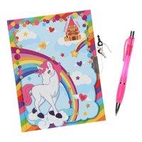 Dagboek met Slot & Pen - Eenhoorn