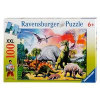 Dinosaurus Puzzel XXL, 100st