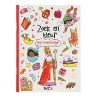 Zoek en Kleur - Dag Sinterklaasje!
