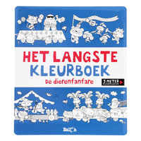 Het Langste Kleurboek - De Dierenfanfare