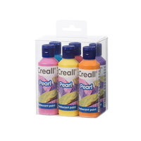 Creall Parelmoerverf Set 80ml, 6dlg.