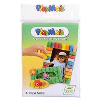 PlayMais Fotolijstjes Versieren, 6st