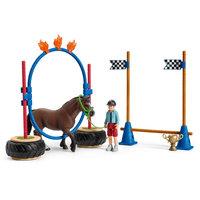 Schleich Pony Behendigheidswedstrijd