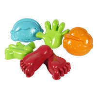 Zandvormen Hand, Voet, Gezicht