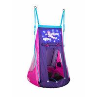 Hudora Nestschommel Pony met Tent LED