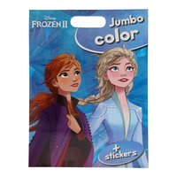 Disney Frozen 2 Jumbo Color Kleurboek met Stickers