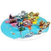 3D Vloerpuzzel Werelddieren