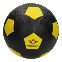 Straatvoetbal Rubber Geel