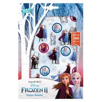 Totum Disney Frozen 2 - Stickervellen, 4st.