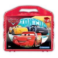 Clementoni Blokpuzzel Cars, 12st.