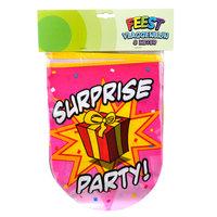 Surprise Party Vlaggenlijn, 8mtr.