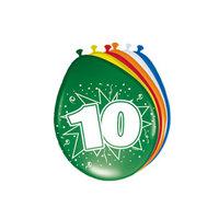 Ballonnen 10 jaar, 8st.