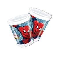 Bekers Spiderman, 8st.