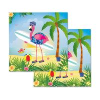 Servetten Flamingo, 20st.