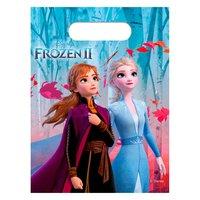 Disney Frozen 2 Uitdeelzakjes, 6st.