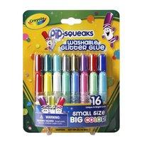 Crayola Glitterlijmtubes, 16st.