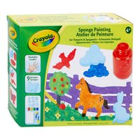 Crayola Knutselset Schilderen met Spons