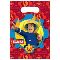 Brandweerman Sam Uitdeelzakjes, 8st.