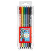 STABILO Pen 68 - 6 Kleuren