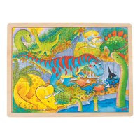 Houten Legpuzzel - Dino's, 48st.
